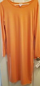 Luluroe - Debbie- Orange Dress